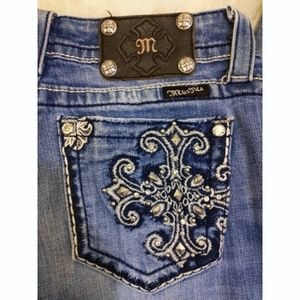 Miss Me Jeans - Miss Me Boot Cut Embellished Jeans